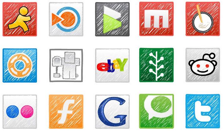 Кнопки социальных сетей на сайт